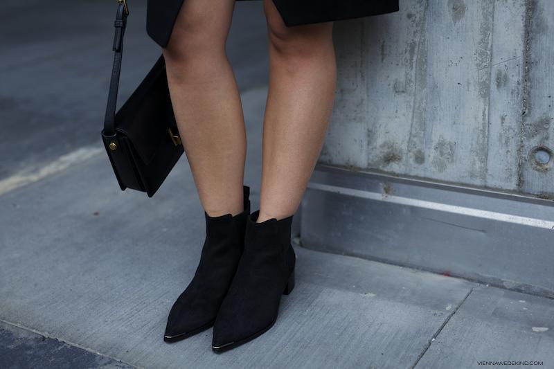 VIENNA WEDEKIND wears Acne Jensen Boots